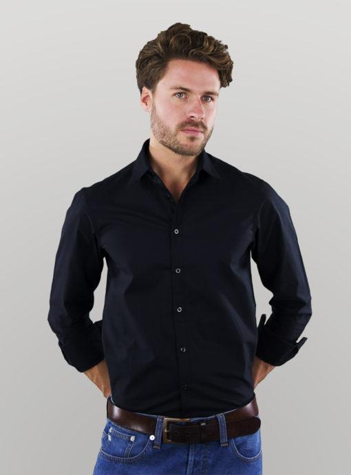 men_shirt_black_casual