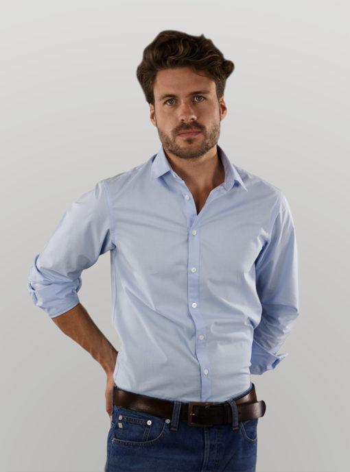 men_shirt_blue_casual